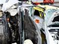 Accident cumplit în Neamț. 5 mașini au fost implicate. FOTO