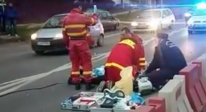 Accident cumplit la ieşirea din Iaşi