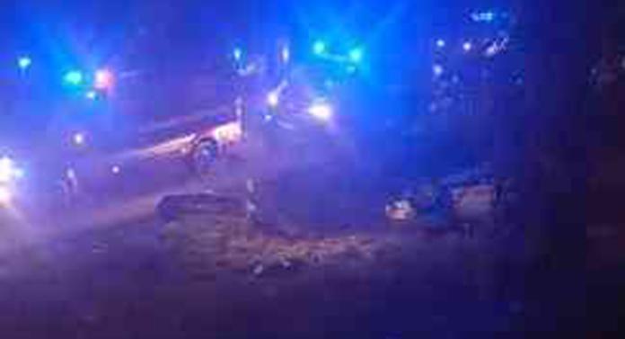 Accident cu 3 mașini, la ieșirea din Suceava. Sunt 5 victime