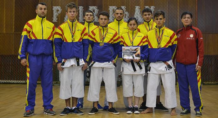 Şapte medalii pentru ENPI Iaşi la Campionatul Mondial de Karate Fudokan