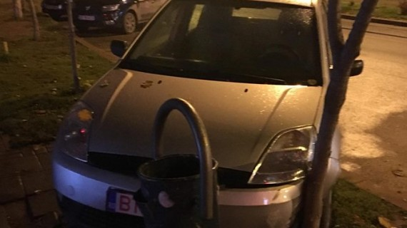 Accident în zona Uvertura Mall. FOTO