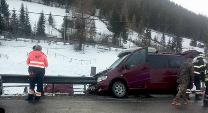 Accident groaznic în Ajun de Crăciun, la Suceava