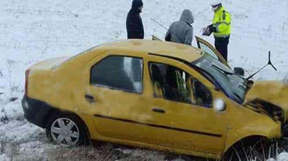 Accident cumplit în această dimineață, la Suceava