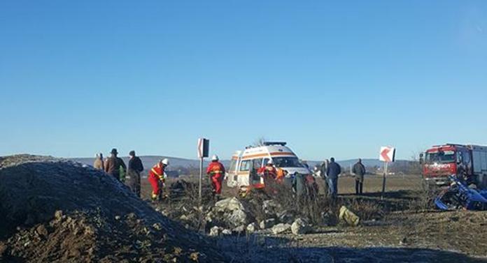 Accident groaznic la Milișăuți în a doua zi de Crăciun