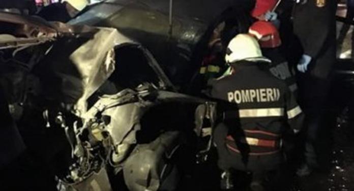 Accident grav la ieşirea din Iași