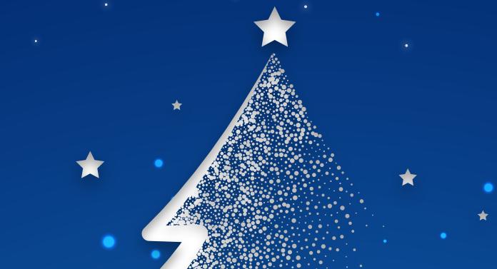 Se aprind luminile de Crăciun la Bacău