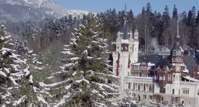 Cel mai spectaculos film de Crăciun, turnat în România