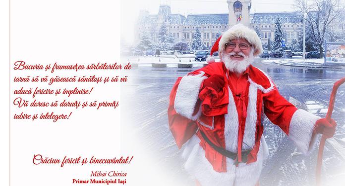 Mihai Chirica, umilit în Ajun de Crăciun!