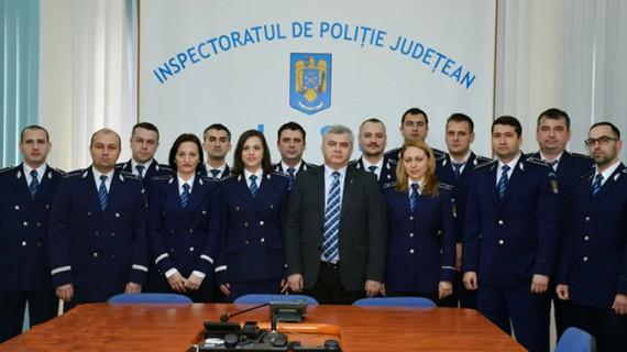 Noii ofițeri de poliție ieșeni au depus jurământul