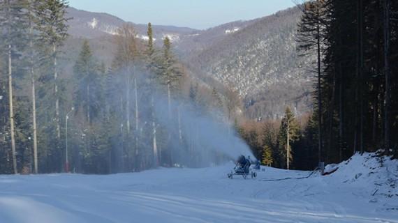 Se deschide pârtia de schi de la Slănic Moldova