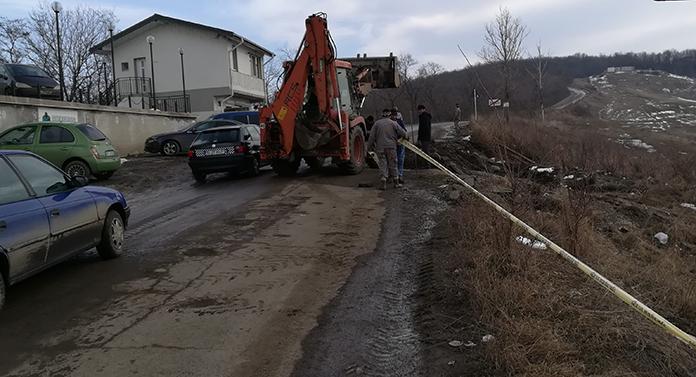 Drumul județean Iaşi – Suceava s-a surpat în zona localității Breazu