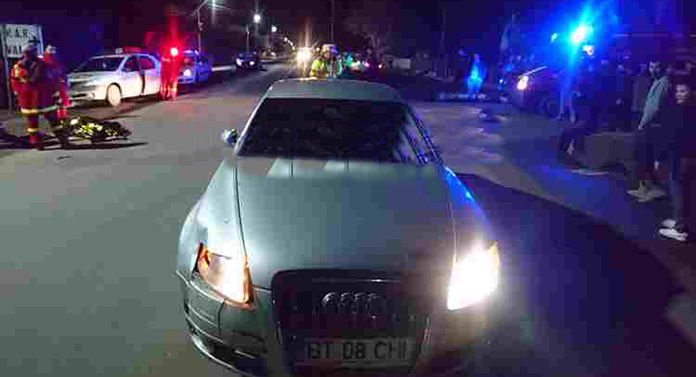 Accident grav la Botoșani: o persoană decedată și alta grav rănită