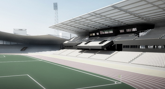 Stadion modern la Bacău