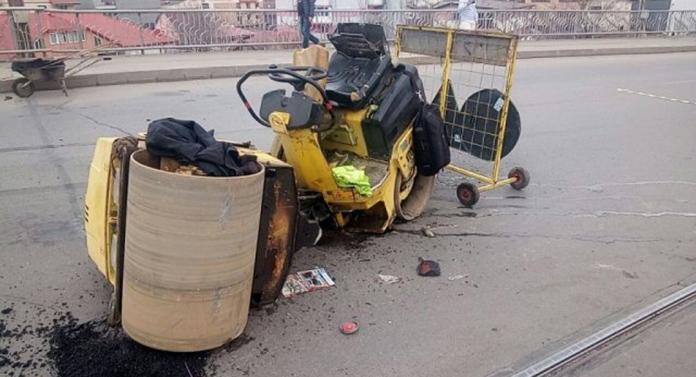 Accident grav pe podul din Alexandru cel Bun