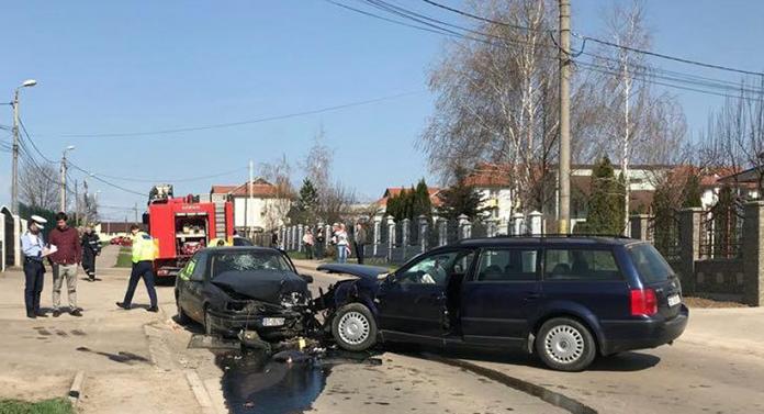 Accident cu trei victime, la Botoșani, în prima zi de Paști