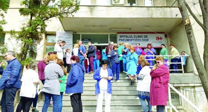Noi proteste la Spitalul de Pneumoftiziologie