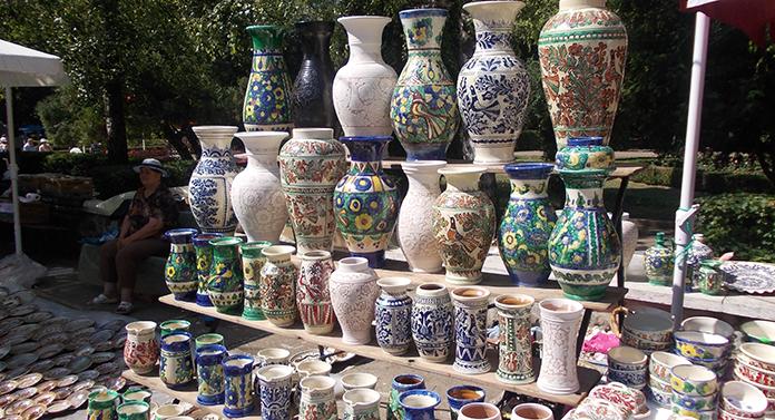 """Târgul naţional de ceramică """"CUCUTENI 5000"""""""