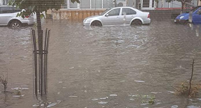 Pericol de inundații pe Trotuș