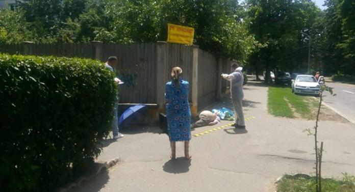 Vasluian mort pe stradă, după ce a ieșit din spital