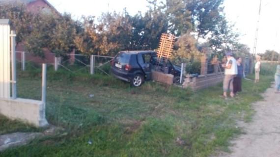 Imagini de la accidentul care a avut loc aseară în Suceava