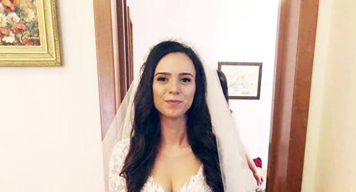 Prima imagine cu fiica președintelui CJ Iași în rochie de mireasă