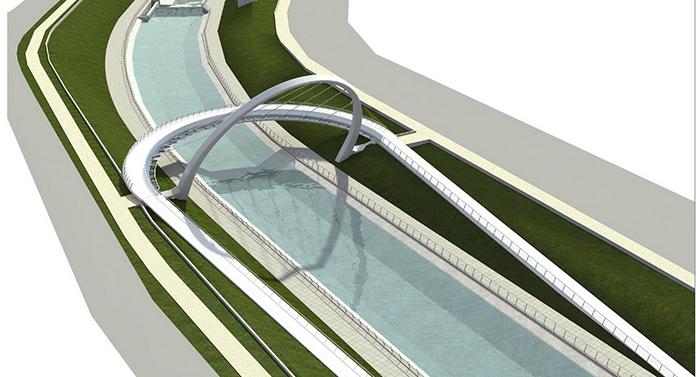 Parteneriat Primărie – Apele Române pentru construirea podului peste Bahlui
