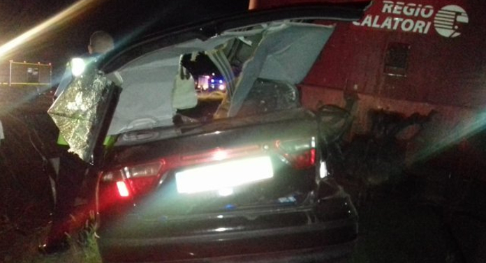 Imagini de la tragedia de azi-noapte, de la Vlădeni