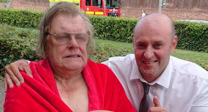 Dumtirescu, ieșeanul erou în Anglia. A salvat un bătrân dintr-o casă în flăcări