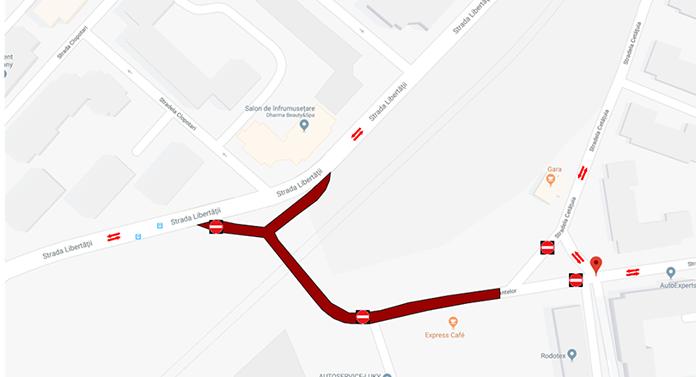 O nouă stradă închisă circulației astăzi