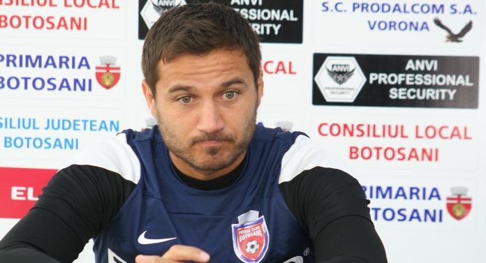 Lotul FC Botoșani s-a reunit fără numele grele