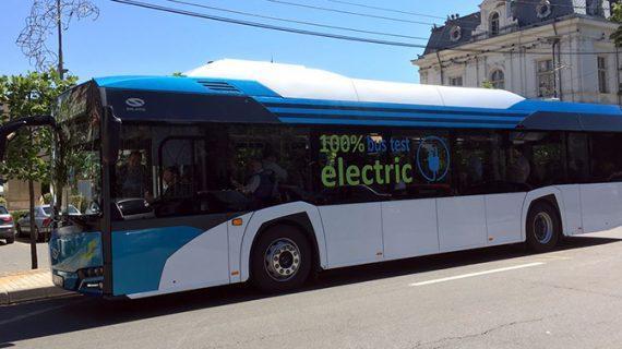 Primăria Suceava a cumpărat cinci autobuze electrice
