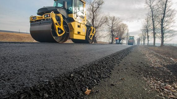 A fost asfaltat drumul județean 248A spre Vaslui