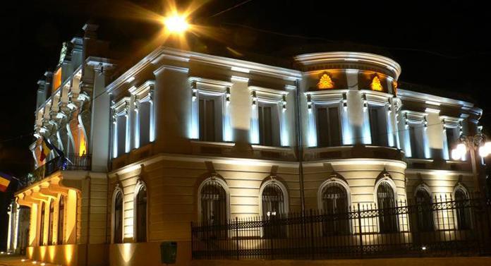 Muzeului Unirii, iluminat pe 8 noiembrie