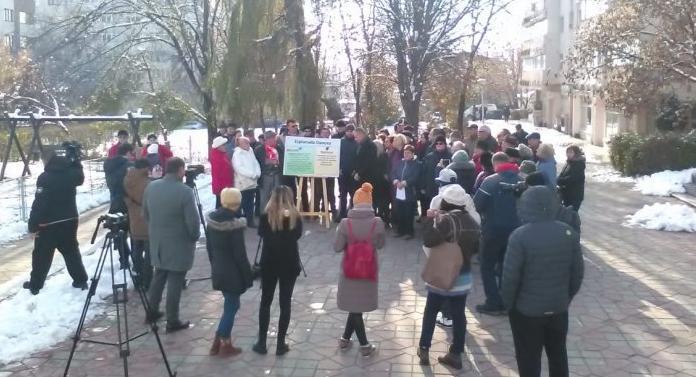 Protest al ieşenilor pentru salvarea esplanadei Oancea