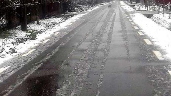 5 drumuri naționale sunt închise circulației