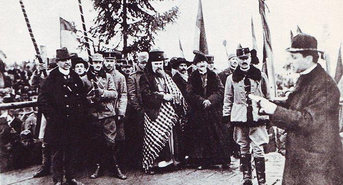 101 ani de la Unirea Transilvaniei, Banatului, Crişanei şi Maramureşului cu România. Ziua Națională a României
