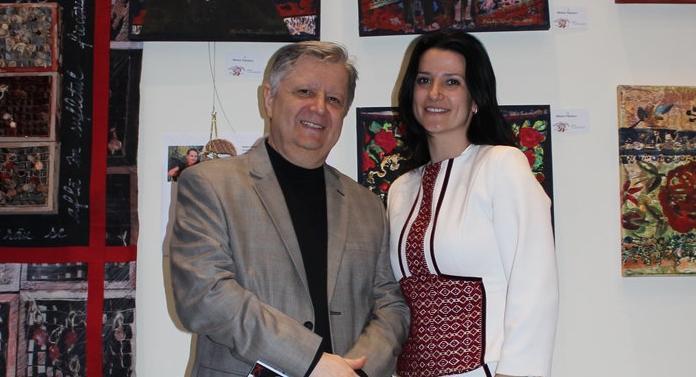 O apropiată a lui Chirica, cetățean de onoare al Iașiului