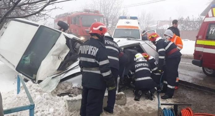 Accident groaznic astăzi, la Iaşi