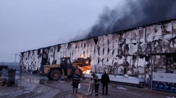 Incendiu devastator în această dimineață, la Vaslui