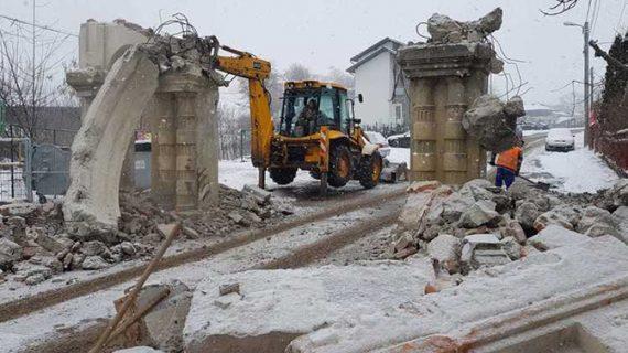 Liberalii ieșeni îl părăsc pe Chirica în cazul demolării porții Cimitirului Evreiesc