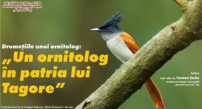 Provocările culturii: Un ornitolog în patria lui Tagore