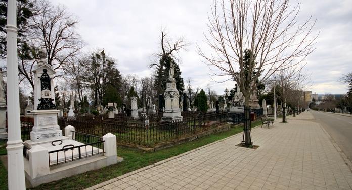 Cimitirul Eternitatea, monument istoric