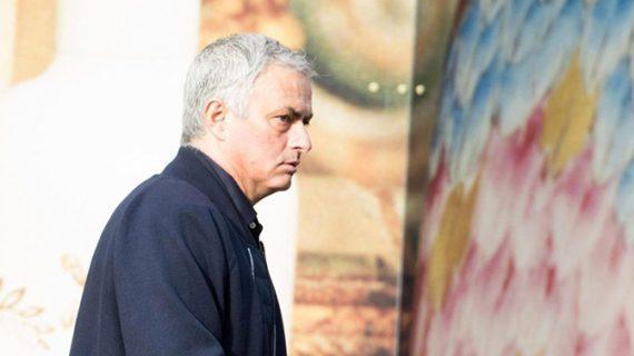 Imagine rară cu Jose Mourinho