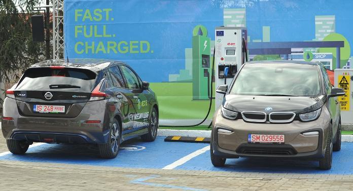 Stații de încărcare a mașinilor electrice în municipiul Botoșani
