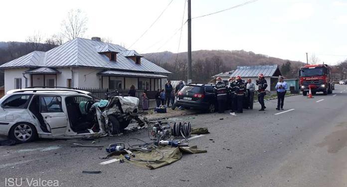 Două accidente cumplite în aceeași zi, în același județ. FOTO