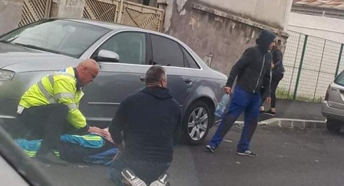 Tragedie! Copil de 9 ani SPULBERAT de o mașină. A fost transportat cu elicopterul SMURD la Iași