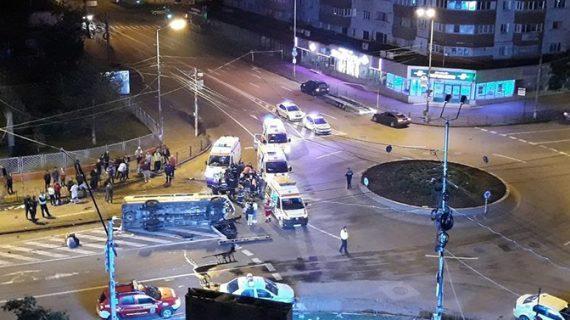 CUMPLIT! 16 persoane au ajuns la spital în urma unui ACCIDENT