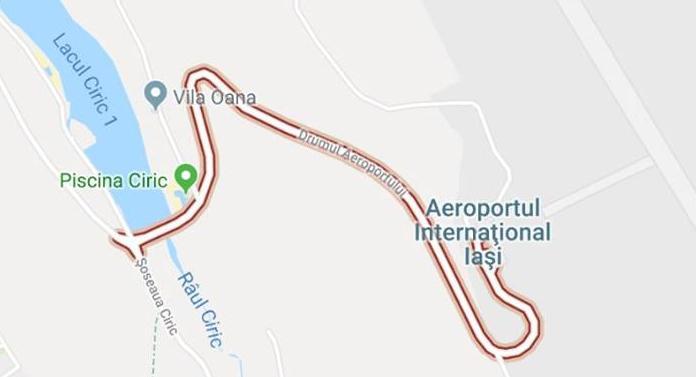 Lucrări de modernizare la noul drum de acces către Aeroport