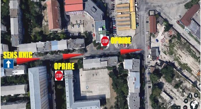 Circulația din Iași, dată din nou peste cap de luni! Apar noi sensuri unice, separatoare de sens și treceri de pietoni