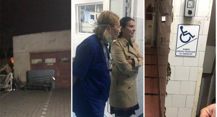 """Clujul o ia la întrebări şi îi arată Sorinei Pintea cum funcţionează un spital. """"Igienizarea şi lucrările curente sunt în sarcina ministerului""""!"""